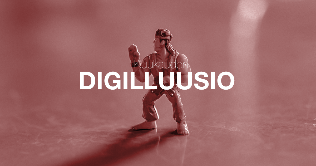 Digilluusio sosiaalinen media hurraakerkko