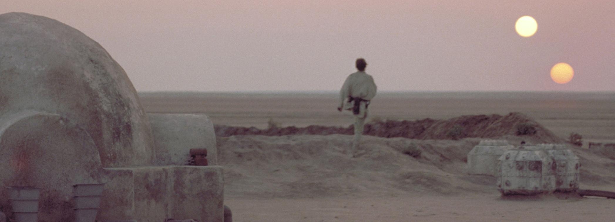 Tähtien Sota Episodi IV Uusi Toivo Tatooine