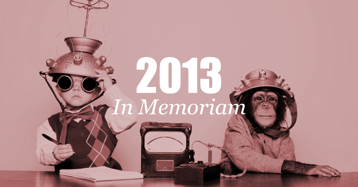 2013 In Memoriam