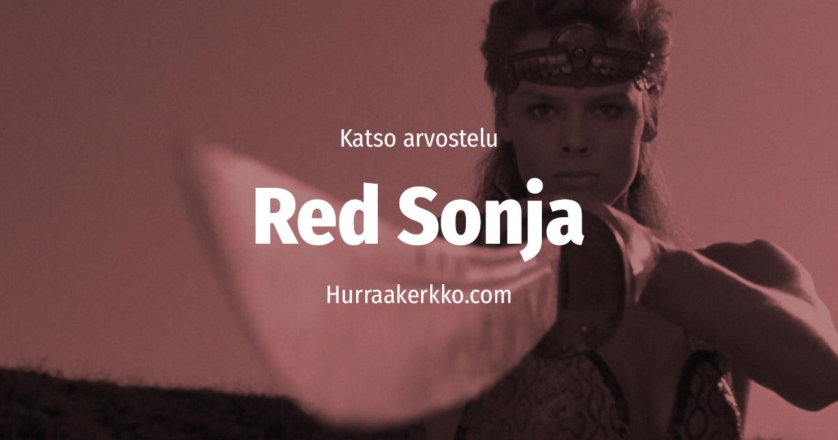 Arvostelussa Red Sonja (1985) – katso video!